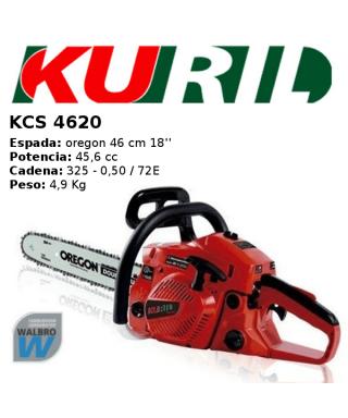 MOTOSIERRA KURIL KCS4620 GASOLINA 2T