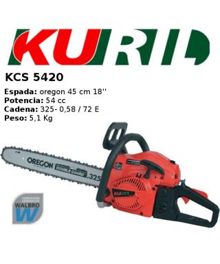 MOTOSIERRA KURIL KCS 5420 GASOLINA 2T