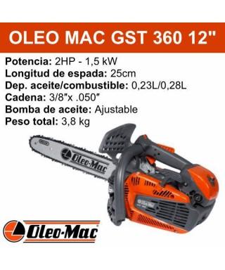 "MOTOSIERRA OLEO MAC GST 360 12"" PODA"