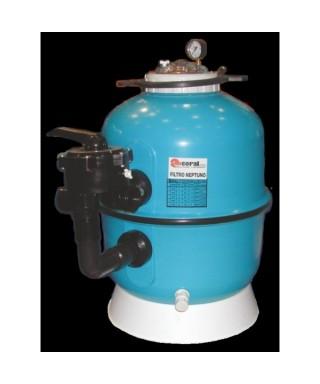 Filtro depuradora coral 500 neptuno for Piscina 50000 litros